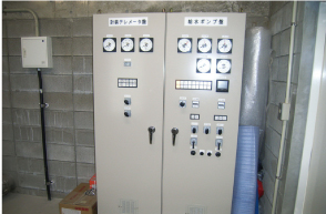 Electrical instrumentation, Tsuji/Tokuichi Water Distribution Station (Miyoshi City)