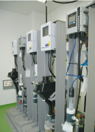 Sewage treatment plant water quality instrumentation (Miyoshi City)