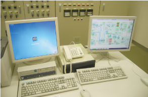 Monitoring equipment, Hashimoto Sewage Treatment Plant (Miyoshi City)