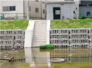 Sugano river pumping station, Hyogo Prefecture